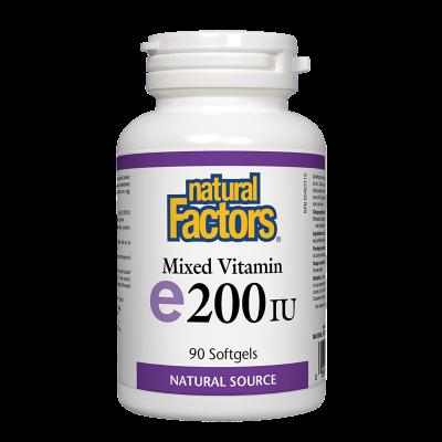 Витамин E 100 mg/200IU (токофероли...