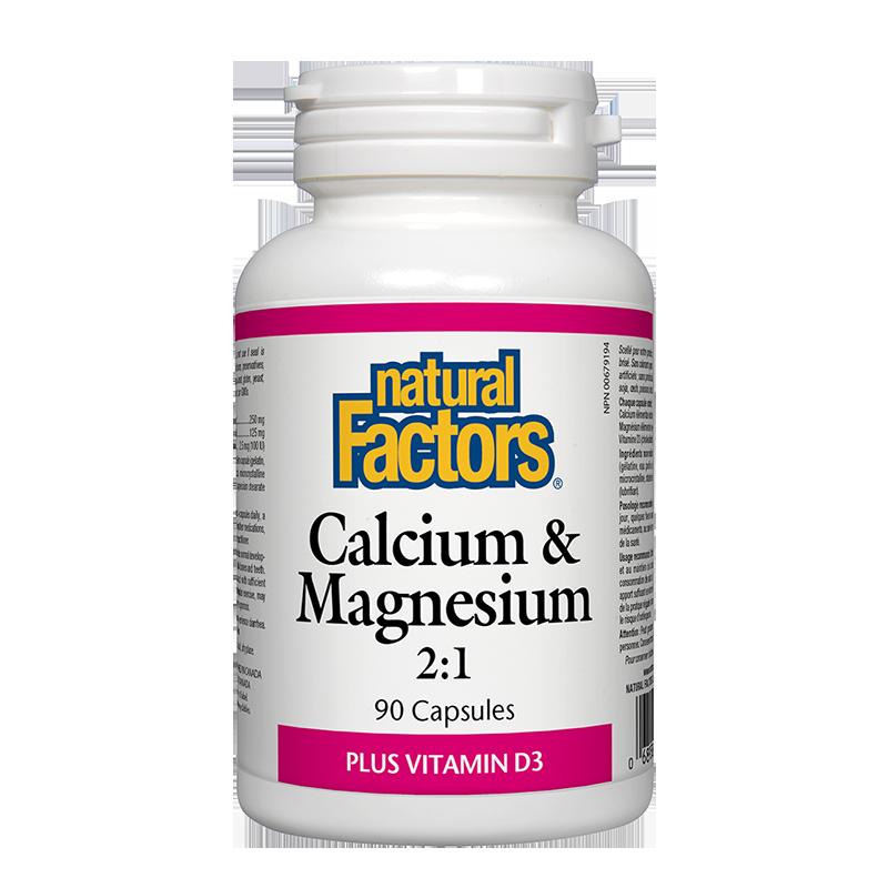 Calcium & Magnesium + Vitamin D3/ Калций и Магнезий + Витамин D3 х 90 капсули