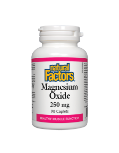 Магнезий (оксид) 250 mg Natural Factors