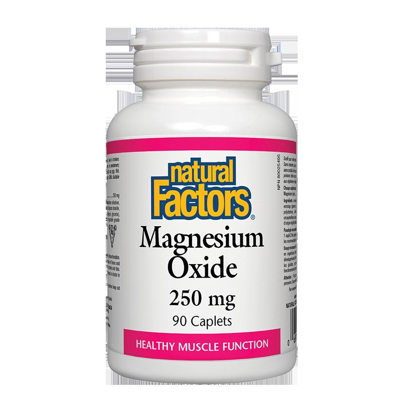 Magnesium Oxide/ Магнезий (оксид) 250 mg х 90 каплети