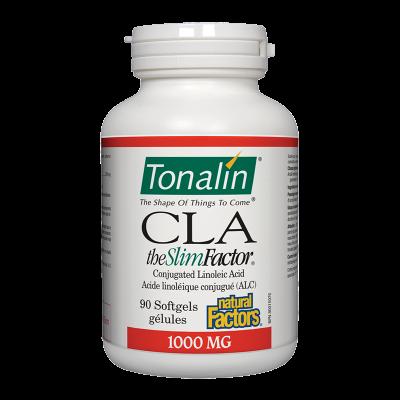 Тоналин КЛА 1000 mg x 90 софтгел капсули Natural Factors