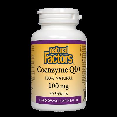 Коензим Q10 100 mg x 30 капсули