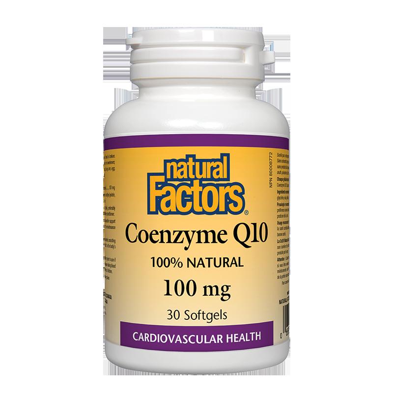 Coenzyme Q10/ Коензим Q10 100 mg x 30 софтгел капсули