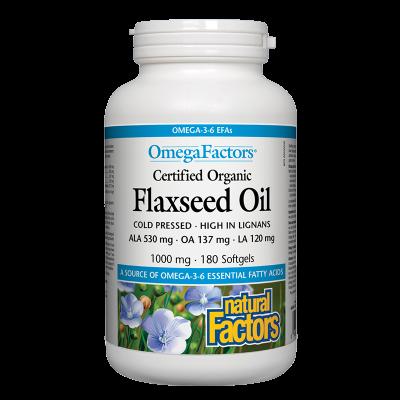 Flaxseed Oil/ Ленено масло 1000 mg х...