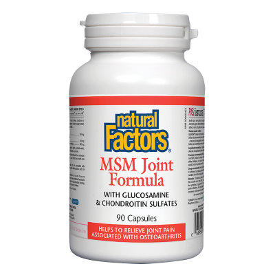 МСМ формула за стави 840 mg х 90 капсули Natural Factors