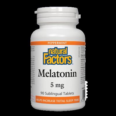 Мелатонин 5 mg x 90 таблетки Natural Factors