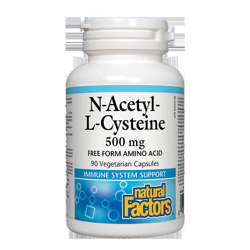 N-Acetyl-L-Cysteine/ Н-Ацетил-Л-Цистеин 500 mg х 90 капсули