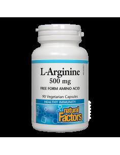 Л-Аргинин 500 mg Natural Factors