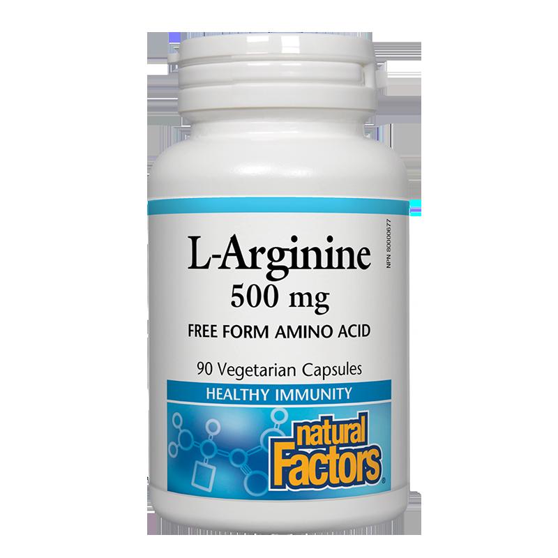 L-Arginine/ Л-Аргинин 500 mg х 90 капсули