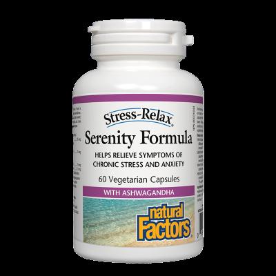 Serenity Formula (Антистрес Формула) 312.5 mg x 60 капсули Natural Factors