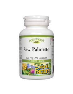 Сао Палмето 500 mg х 90 капсули Natural Factors