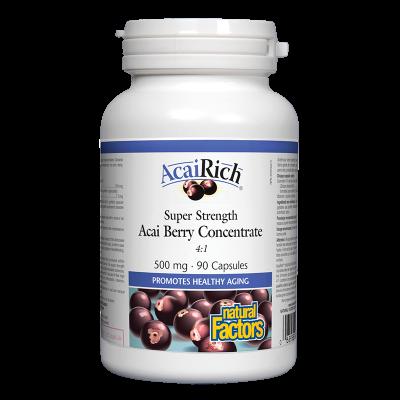 Акай 500 mg X 90 капсули Natural Factors