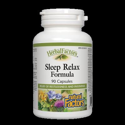 Sleep Relax Formula (Спокоен сън формула) 325 mg х 90 капсули Natural Factors