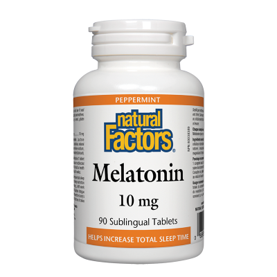 Мелатонин 10 mg x 90 таблетки Natural Factors