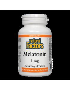 Мелатонин 1 mg x 90 таблетки Natural Factors