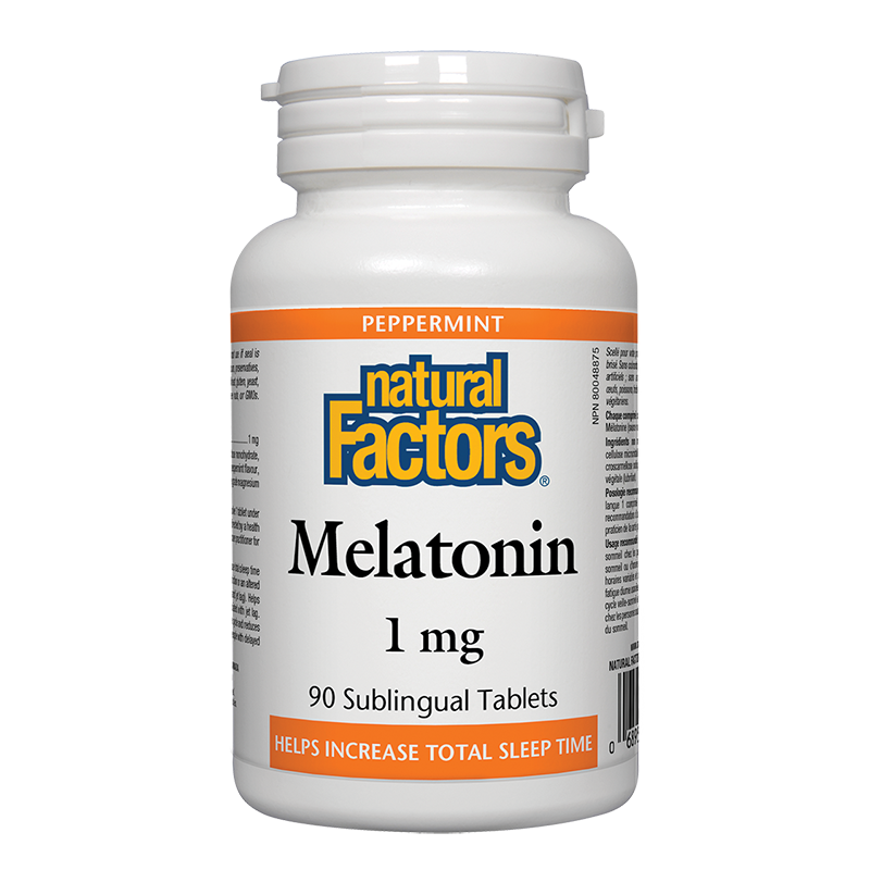 Melatonin/ Мелатонин 1 mg x 90 сублингвални таблетки