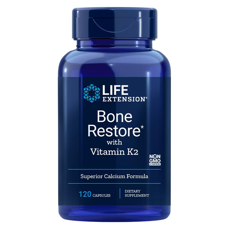 Bone Restore with Vitamin K2/ За здрави кости х 120 капсули