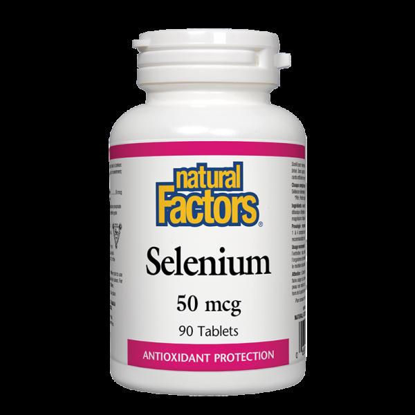 Селен 50 mcg Natural Factors
