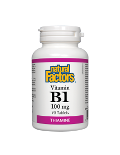 Витамин В1 100 mg Natural Factors - 1