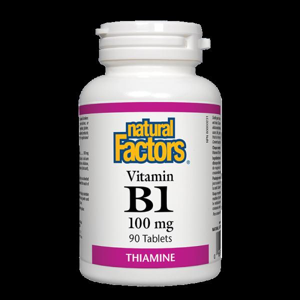 Витамин В1 100 mg Natural Factors - 1