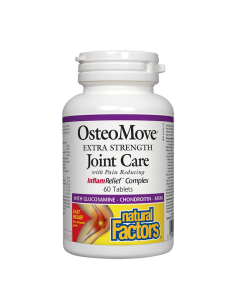 ОстеоМуув супер грижа за ставите 1431 mg x 60 таблетки Natural Factors - 1
