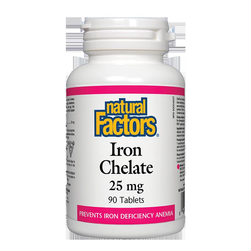 Iron Chelate/ Желязо (хелат) 25 mg x 90 таблетки