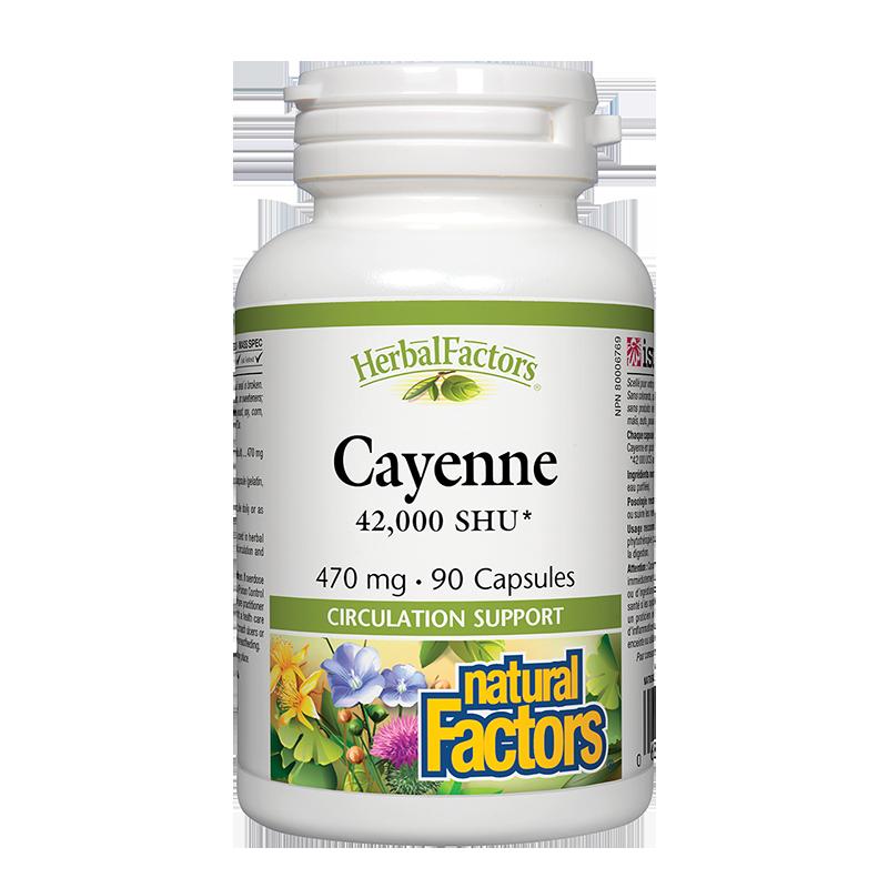 Cayenne 42 000 SHU/ Лют червен пипер 470 mg х 90 капсули