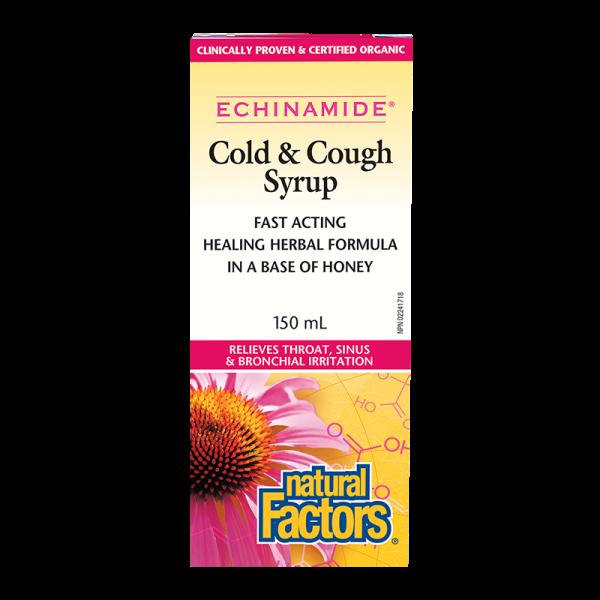 Ехинамид® Сироп (При кашлица и настинка) Natural Factors - 1