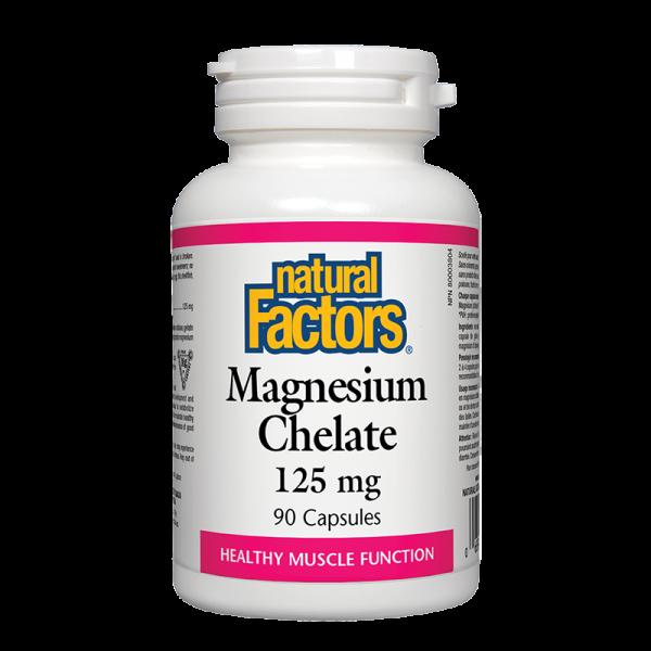 Магнезий (Хелат) 125 mg Natural Factors
