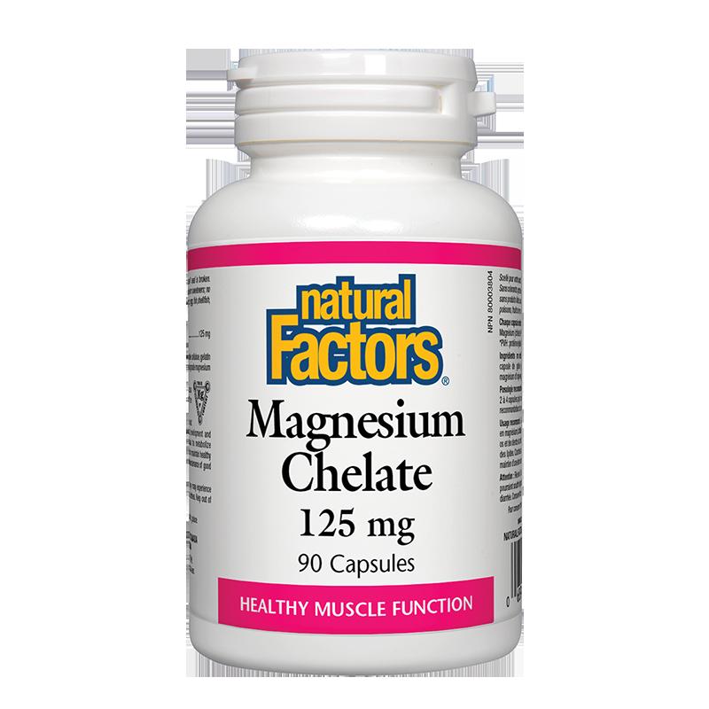Magnesium Chelate/ Магнезий (хелат) 125 mg х 90 капсули