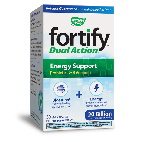 Fortify™ Probiotic Dual Action Energy...