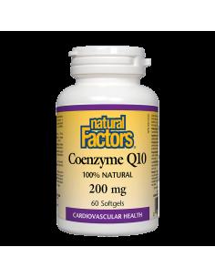 Коензим Q10 200 mg х 60 софтгел капсули Natural Factors