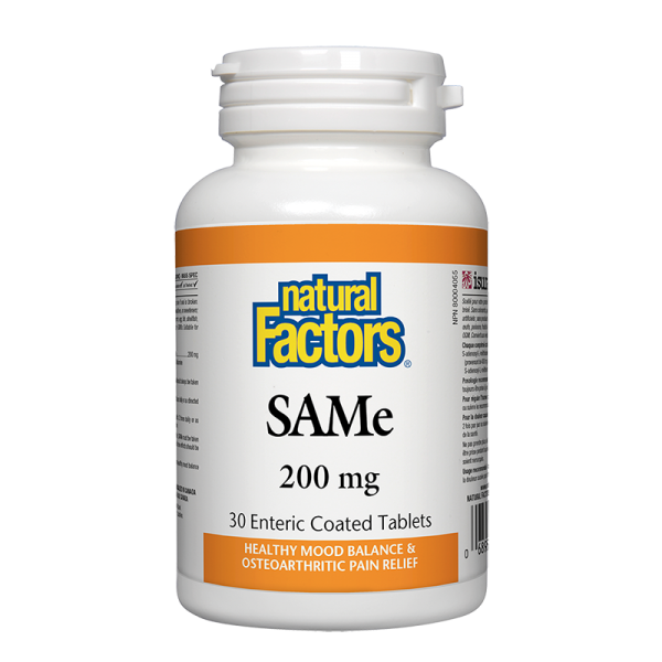 САМ-е 200 mg Natural Factors