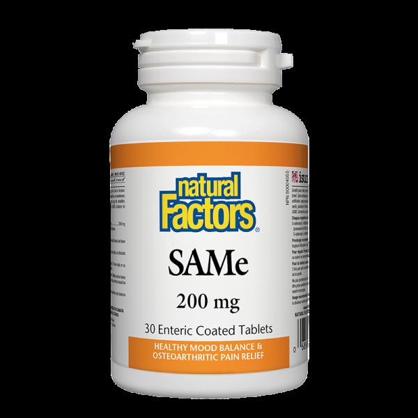 САМ-е 200 mg Natural Factors