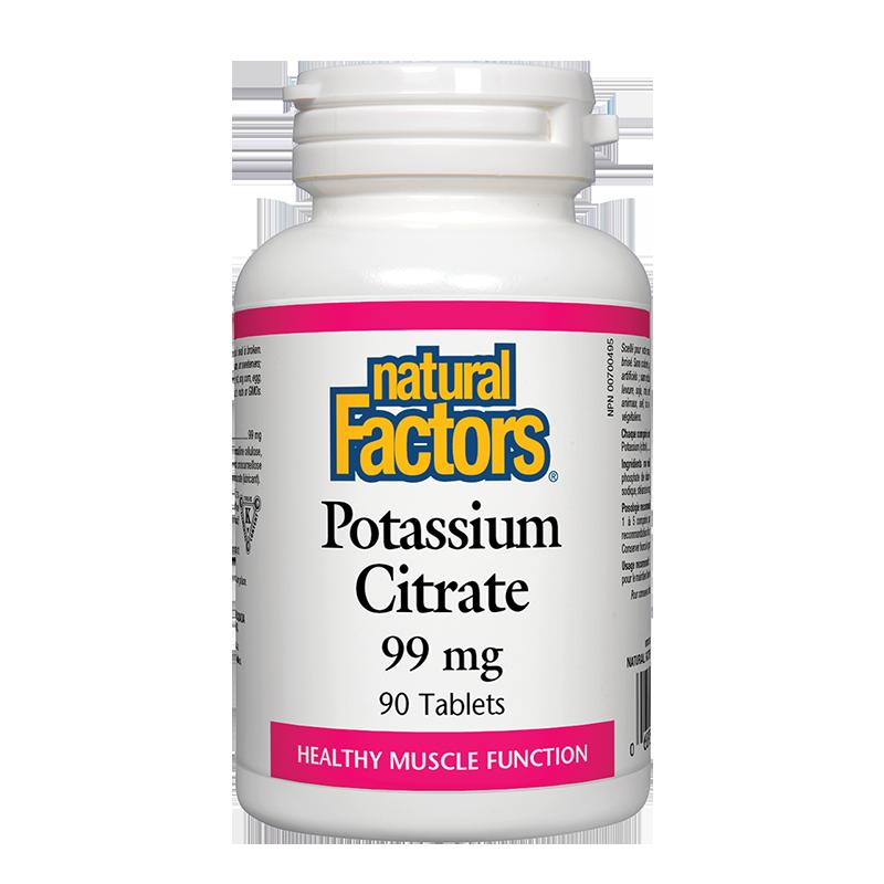 Potassium Citrate/ Калий (цитрат) 99 mg х 90 таблетки