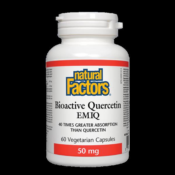 Кверцетин Bioactive EMIQ® 50 mg (Ензимно модифициран кверцетин) Natural Factors