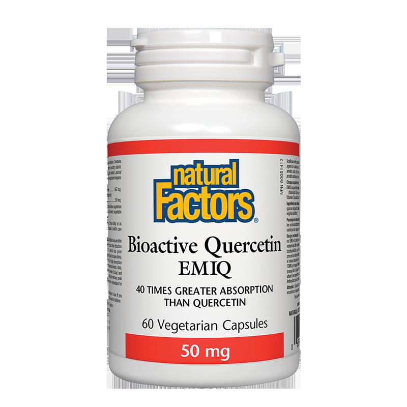 Bioactive Quercetin EMIQ / Биоактивен Kверцетин 50 mg x 60 капсули