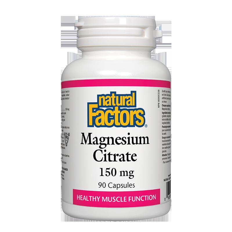 Magnesium Citrate/ Магнезий (цитрат) 150 mg х 90 капсули