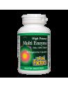 Мулти ензим full spectrum (вегетариански ензими) 450 mg Natural Factors