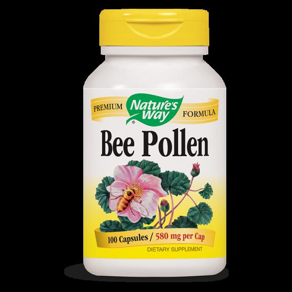 Пчелен прашец (смес) 580 mg х 100 капс. Nature's Way