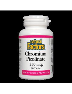 Хром Пиколинат 250 mcg Natural Factors