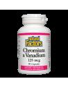Хром & ванадий 125 µg Natural Factors