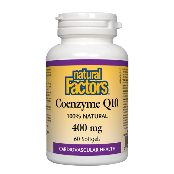 Коензим Q10 400 mg x 60 софтгел капсули Natural Factors
