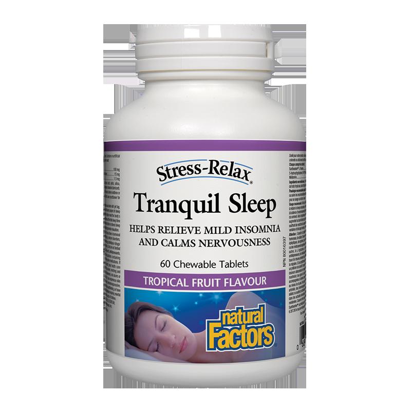 Stress-Relax® Tranquil Sleep х 60 дъвчащи таблетки (при безсъние и стрес)