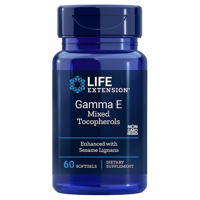 Gamma E Mixed Tocopherols/ Витамин Е ( токофероли микс) х 60 софтгел капсули