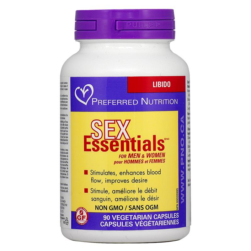 Sex Essentials® for Men & Women x 90 капсули