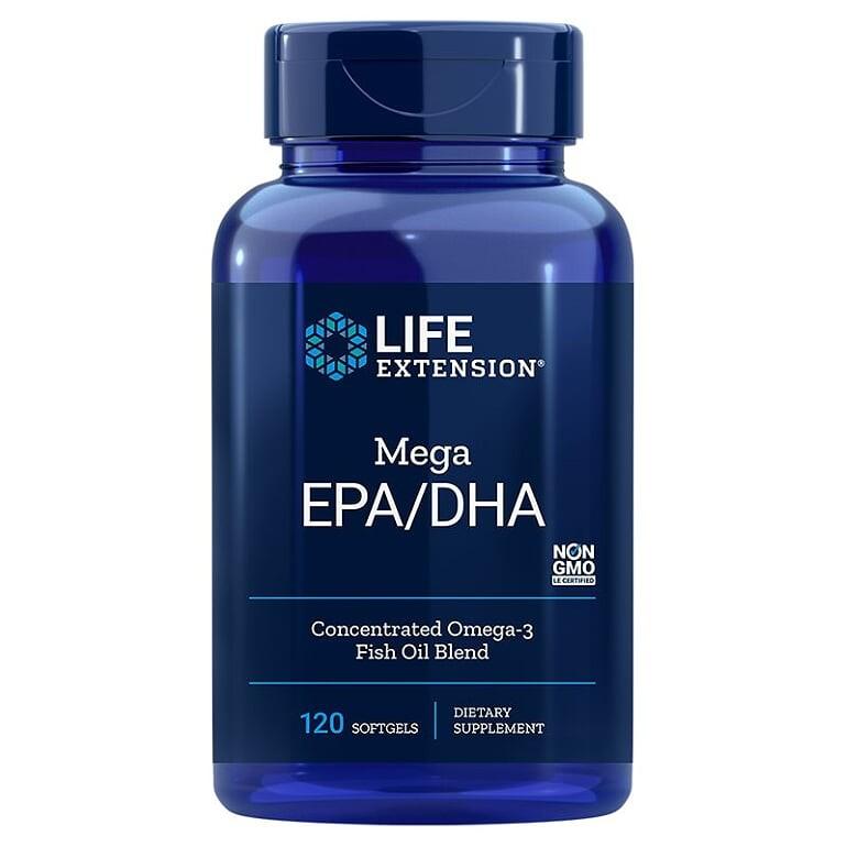 Mega EPA DHA / Омега-3 от рибено масло х 120 софтгел капсули