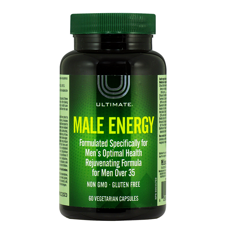 Male Energy™ ULTIMATE™, 60 капсули