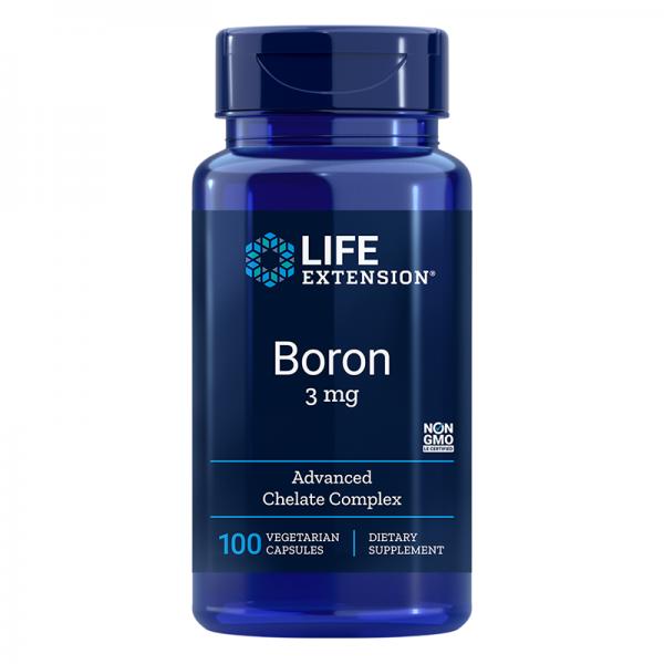 Boron / Бор 3 mg, 100 капсули