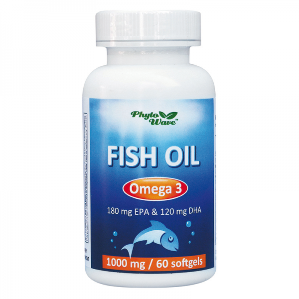 Fish Oil Omega-3 / Рибено масло 1000...